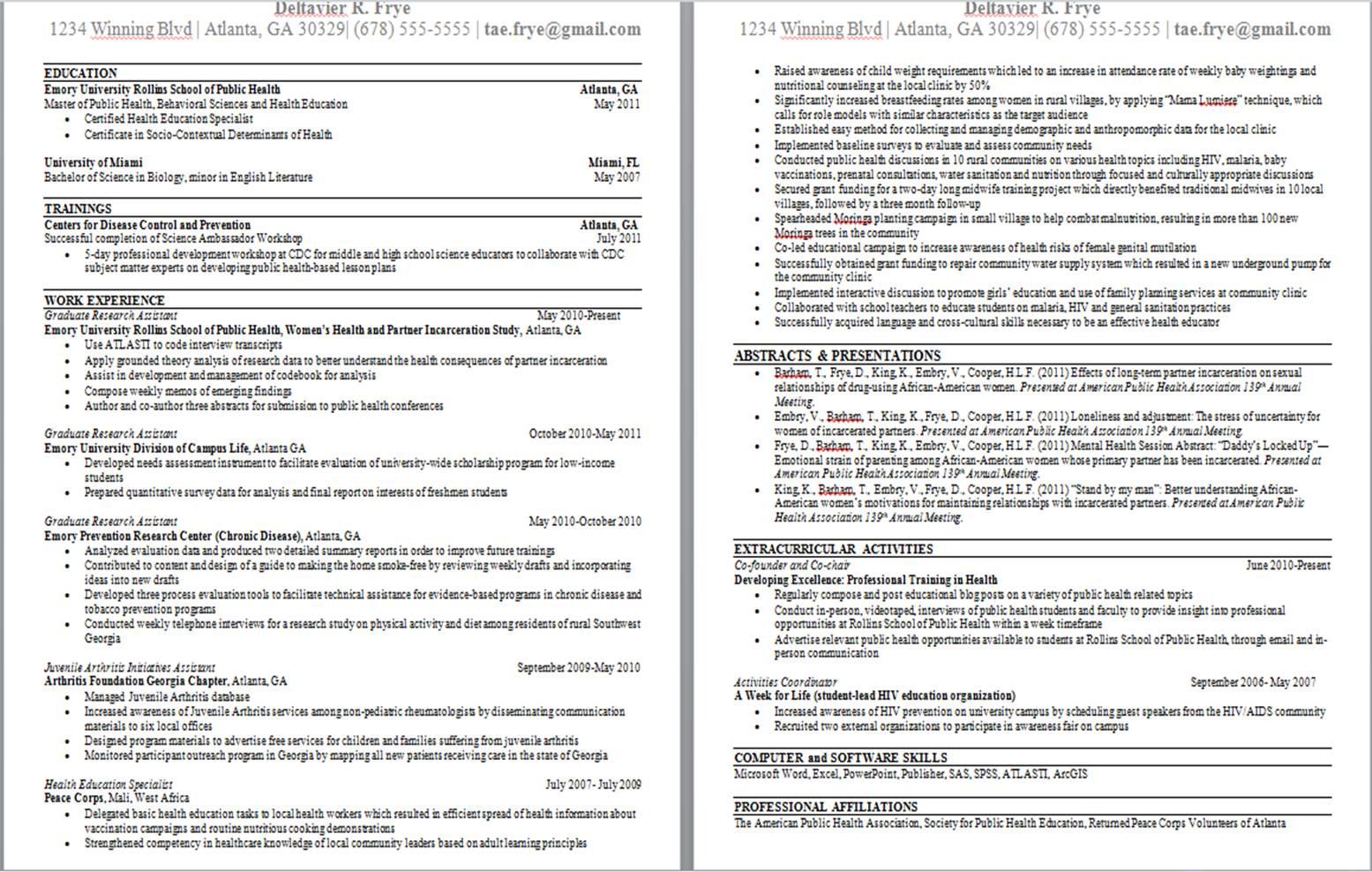 Submit resume twice